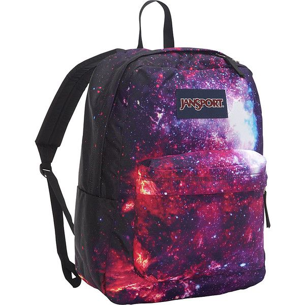 JanSport High Stakes Backpack- Discontinued Colors - Multi... ($20) ❤ liked on Polyvore featuring bags, backpacks, purple, purple bag, jansport rucksack, padded backpack, backpack bags and day pack backpack