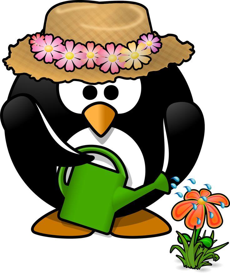Microsoft clip art gardening clipart garden penguin toublanc info ...