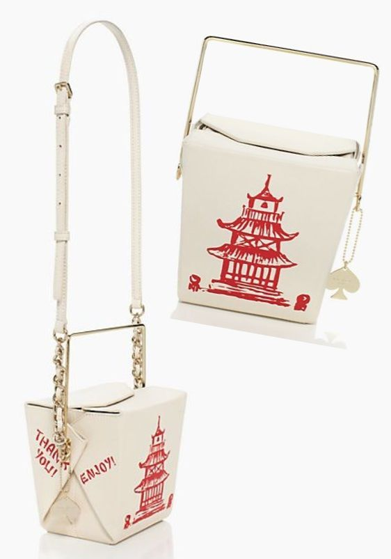 Kate Spade Chinese Takeout Bag <