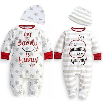 Baby Boy Девушка Новорожденный Ползунки Шляпа Sleepsuit Экипировка Набор Одежда для Новорожденных baby boy зимняя одежда ребенка зимой ползунки комбинезоны