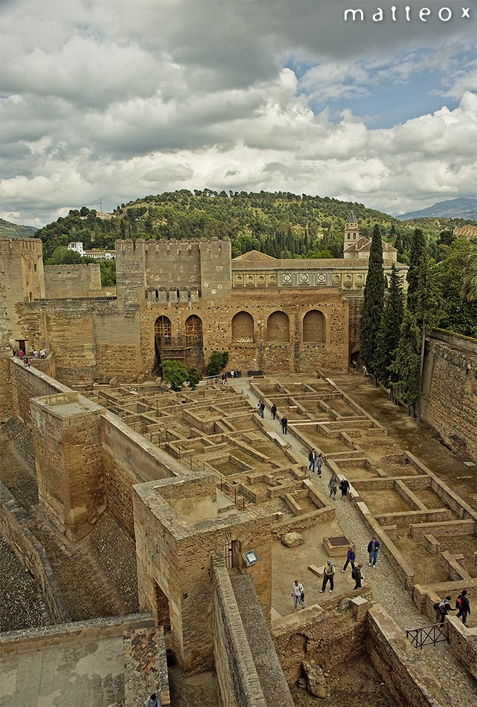 La Alhambra, Grenada, Andalucia, Spain