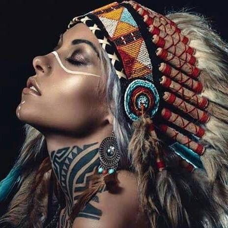 Tattoo Femme Indienne Pinterest Coiffe Tatouages Et