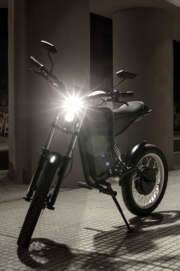 Sudaca electric motocycle ultralight combustion free riding