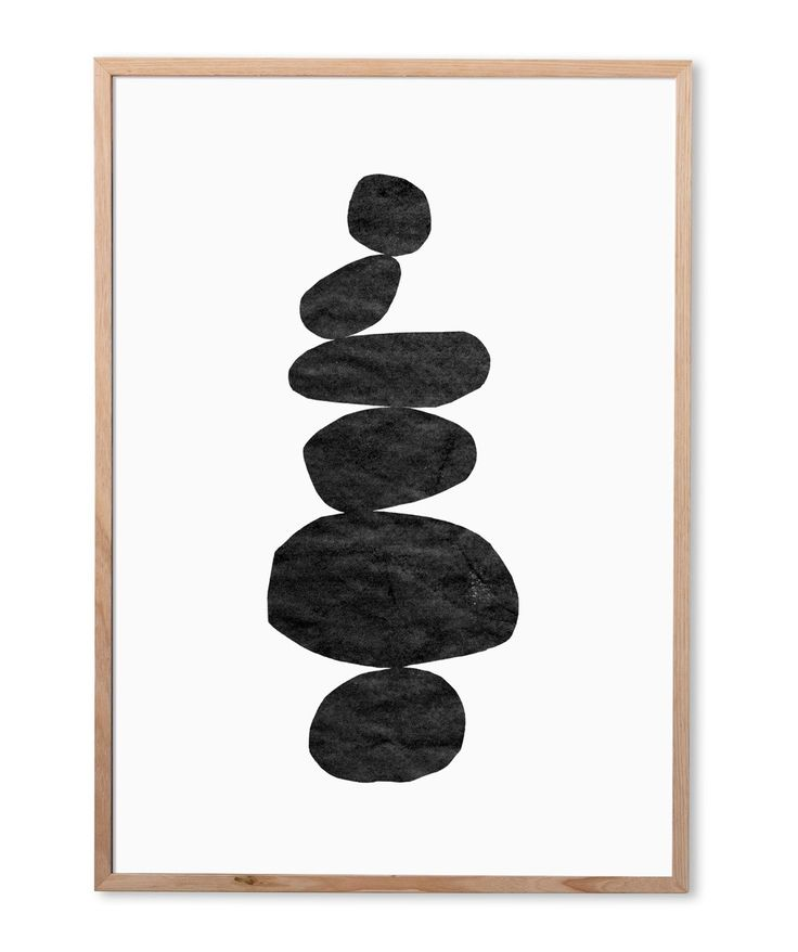 Monochromatic Totem 2 Art Print X-Large Hunting for George