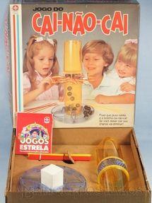 Brinquedo antigo - Estrela - Jogo do Cai-Não-Cai completo Ano 1980