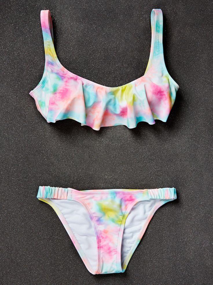 The Bikini Lab Cropped Top, $38; Bottoms, $36, Macys.com Photo by: Kathryn Wirsing Styled by: Sarah Bonk   - Seventeen.com