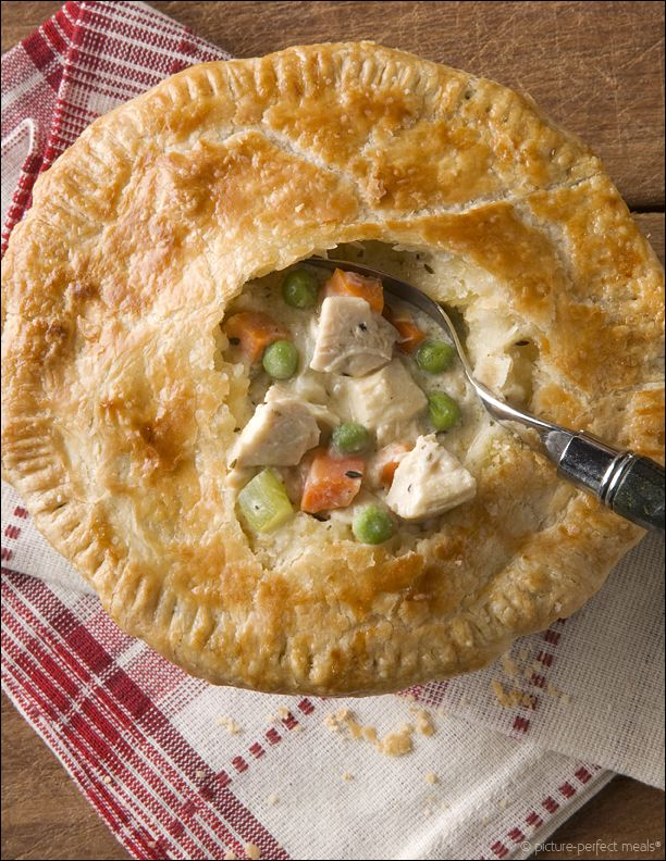 homestyle chicken pot pie | picture-perfect meals