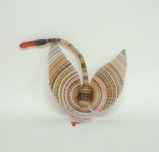Cisne, Artesanía en Crin