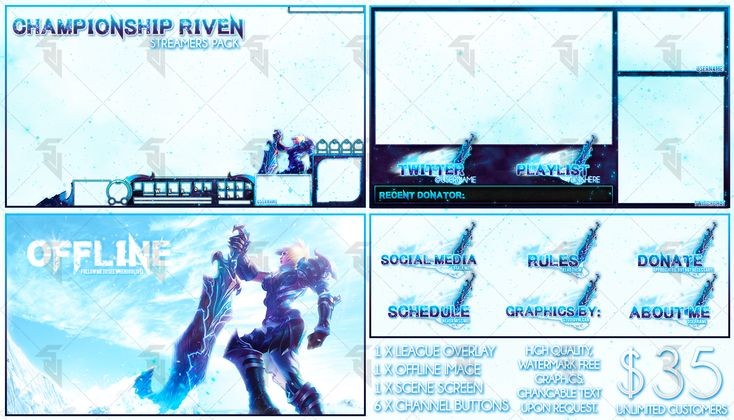Championship Riven - Pre-Made Cheap Streaming Pack by StudioVulcan