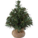 【クリスマス】20cmバーラップツリー