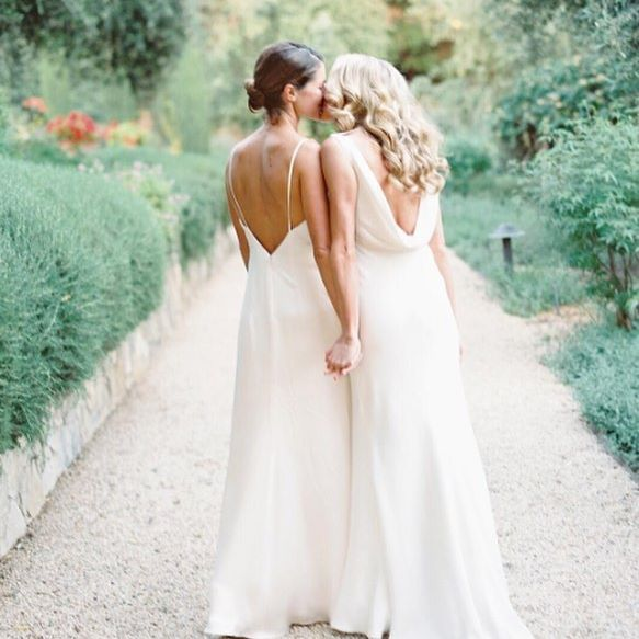 76 best Same sex Weddings Brides images on Pinterest Lesbian