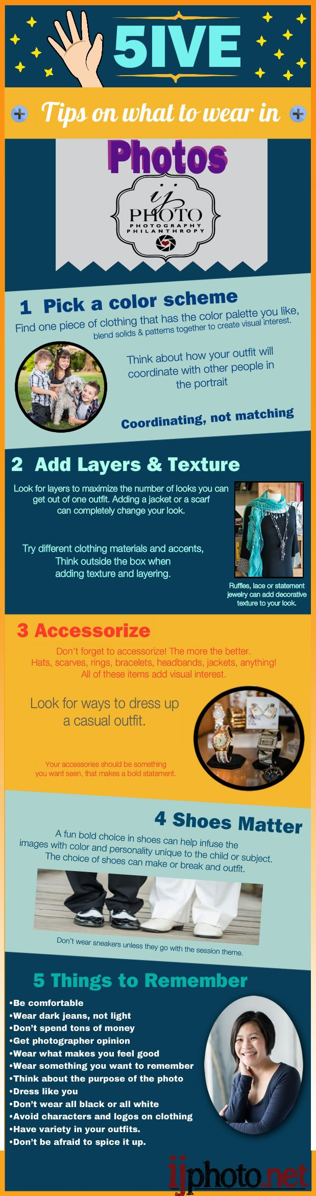 5 Tips On What To Wear In Infographic #Clothing