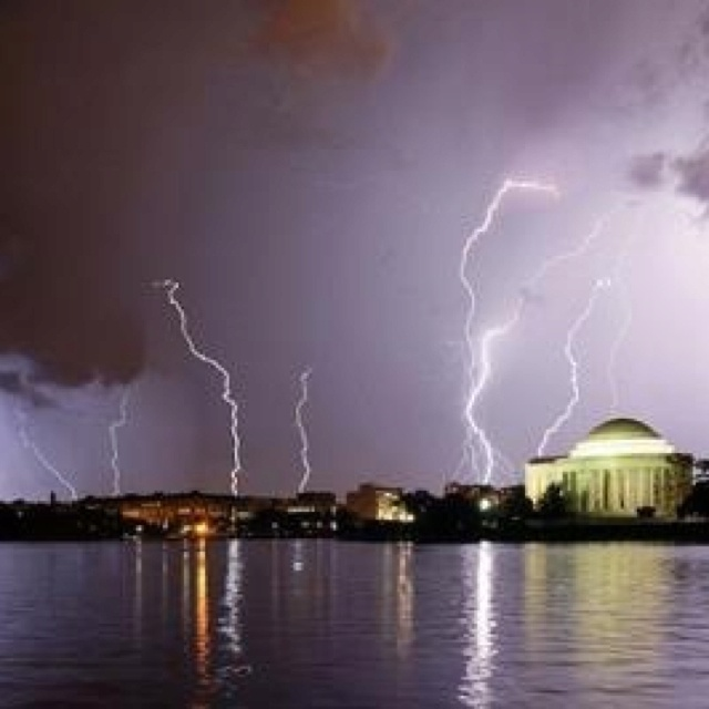 DC's crazy weather.