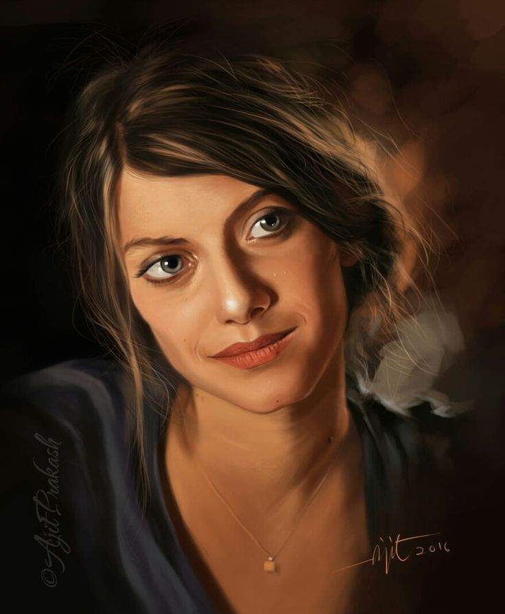 Melanie laurent.. Digital portrait work