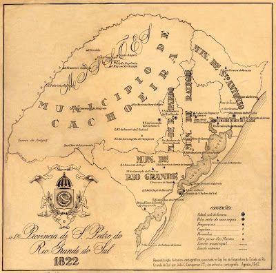 Imagens Históricas: Rio Grande do Sul - Mapas antigos                                                                                                                                                                                 Mais