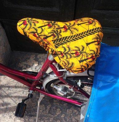 Tuto pour housse de selle de vélo personnalisée