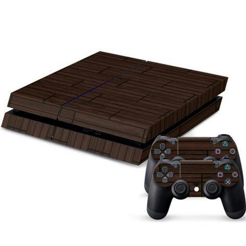 ModFreakz® Console/Controller Vinyl Skin Set – Dark Wood Planks for PS4 Original – Mod Freakz #PS4 #ModFreakz #Vinyl #Skin #diy #gaming #accessories