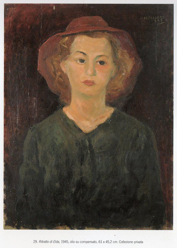 Ugo Castellani ritratto di Elda