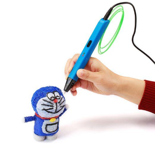 Intelligent 3D Printer Pen - this handheld 3D printer offers a world of fun. Create your own 3D objects #kids birthday gifts crafts art