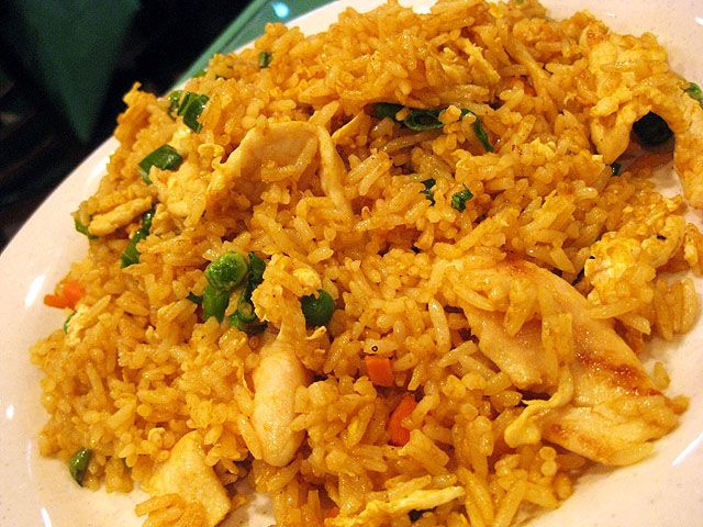 This an Indian version of fried rice. Full a flavor with green peas, cashews, raisins and curry spices.  Heat butter in a sauce pan. Add the chicken and stir fry until no longer pink. Remove from pan and set aside. Add the onion, garlic, cumin, coriander, ginger, turmeric, cinnamon, red pepper, salt and pepper.Cook […]
