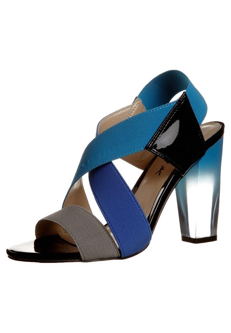 René Derhy - JIFFY - Sandalen met hoge hak - Blauw
