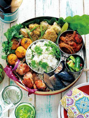 【ELLE a table】海辺でのんびり食べるエスニックBENTOレシピ|エル・オンライン