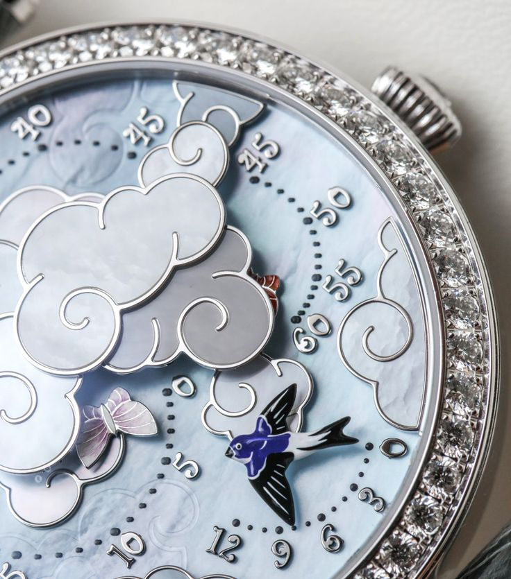 """Van Cleef & Arpels Lady Arpels Ronde Des Papillons Watch Hands-On - by Ariel Adams - See it in action at: aBlogtoWatch.com """"What does it take to get a man excited enough to write about a woman's watch? Something like this new-for-2016 Lady Arpels Ronde des Papillons timepiece from French Van Cleef & Arpels does the trick..."""""""