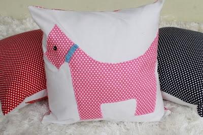puppies pillow