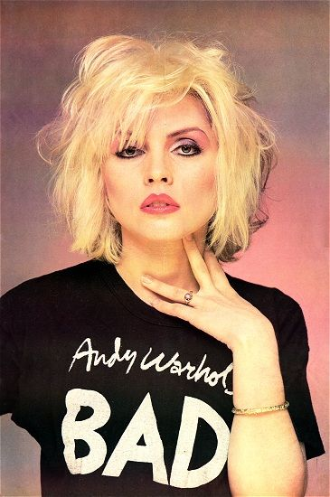 Before Madonna, Gaga ,Gwen, Courtney, Dale Bozzio, etc.  There was Deborah Harry.