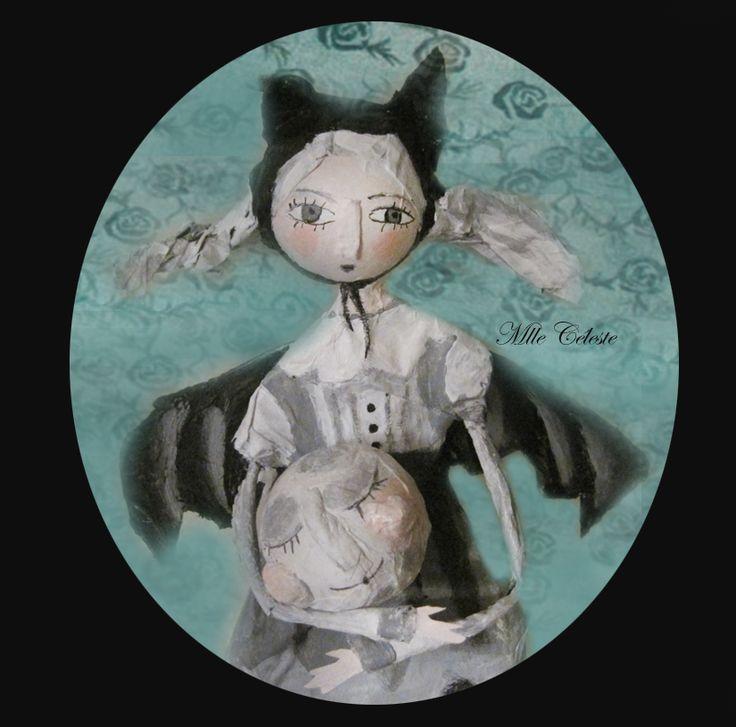 Art doll. Mlle Céleste.