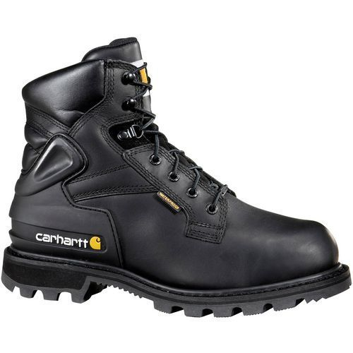 Carhartt Men's 6 in Metatarsal Guard Safety Toe Work Boots (Black, Size 8) - Lace St Work Boots at Academy Sports