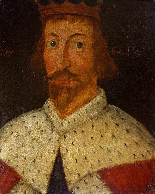Edward II (1284–1327)  British (English) School  National Trust, Westwood Manor. Artuk.org