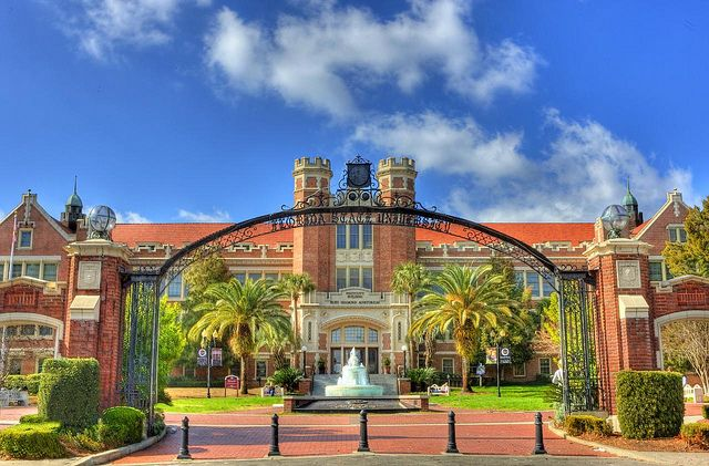 Westcott Building, Florida State University, via Flickr. Love this photo!