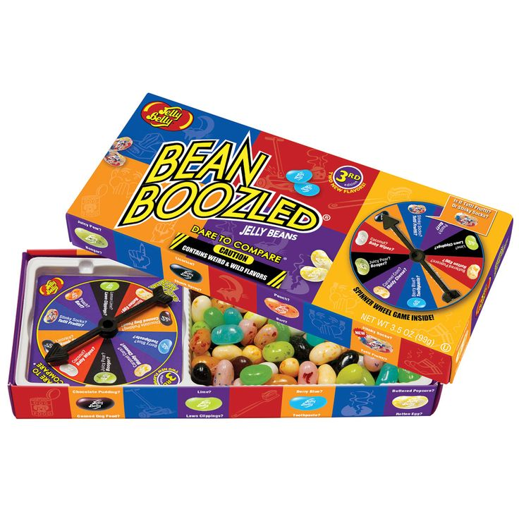 BeanBoozled Spinner Jelly Bean Gift Box - Jelly Belly Candy Company