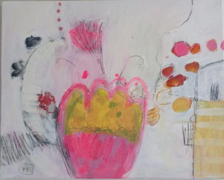 #kobus#malgo#abstract#painting#acrylic#malarstwo#plants