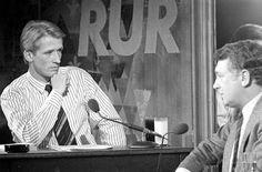 Een streepjesoverhemd, een glas melk en Jan Lenferink. Met RUR zette Veronica zich in de 80's op de talkshow landkaart