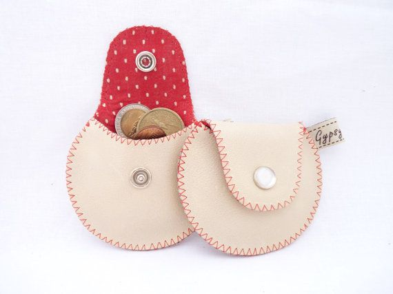 Are you looking for a small, cute and practical change purse? You have found my newest design! Super small but with plenty of space to keep secure