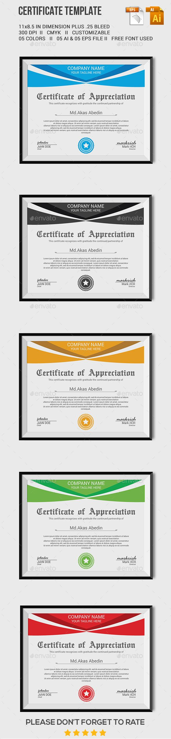 40 best business certificates templates awards images on certificate template 1betcityfo Gallery