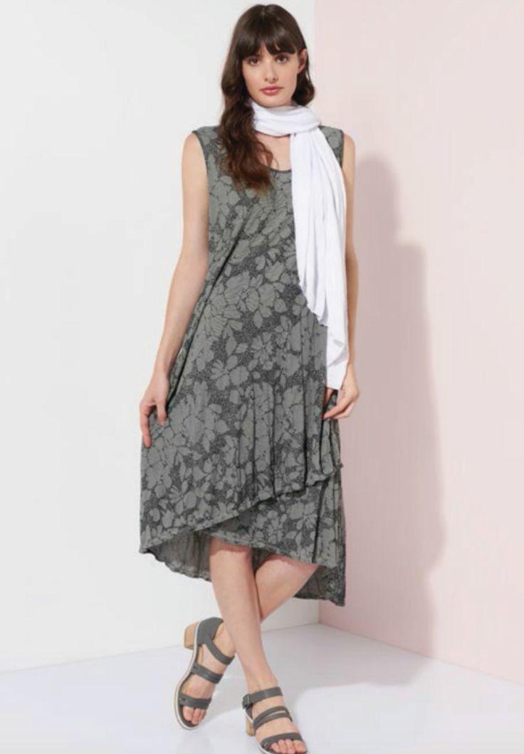 Valia - Majorelle Dress In Silver