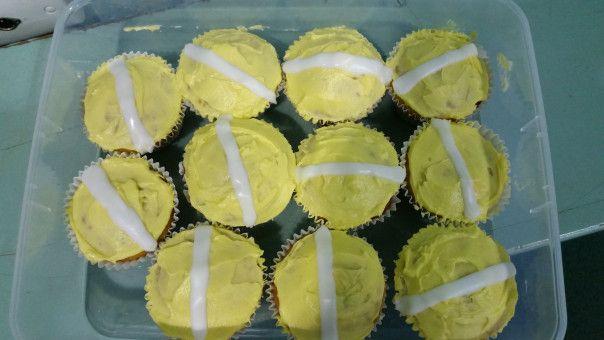 10th Kyu Cupcakes yum