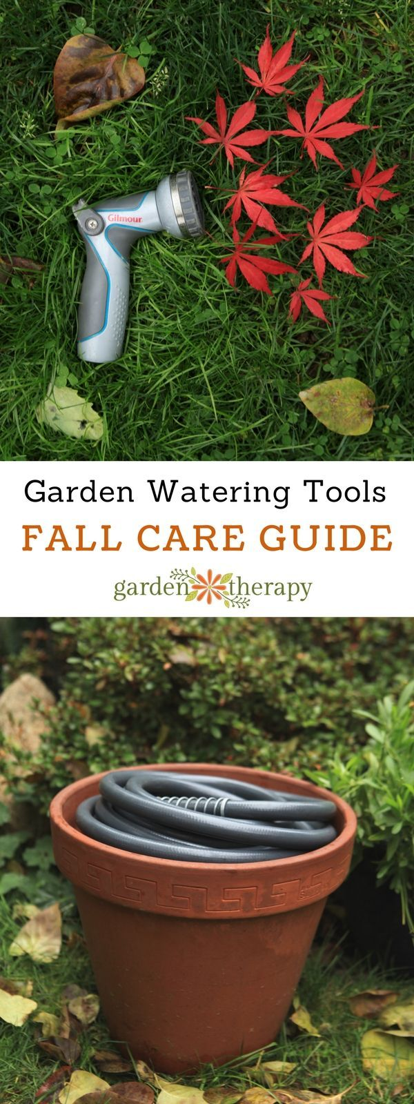 Garden watering tools care guide - Fall is a great time to inspect and repair watering tools no matter what climate you live in. If it becomes a habit to regularly maintain the tools before the cold of winter comes, you will be sure to start off the next season on the right foot. Before the first frost, have a look at your faucets, hoses, nozzles, and sprinklers. This fall garden watering tools guide will share the best ways to clean, repair, and store them for the winter.
