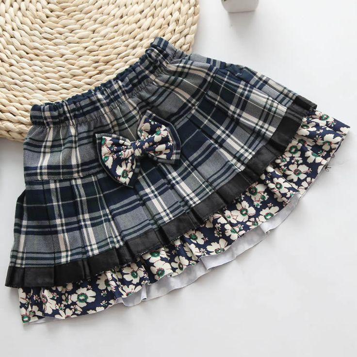 Aliexpress.com: Comprar niñas faldas niño pettskirt falda tutú de tela escocesa…