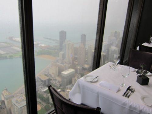 Hancock Bldg Chicago Restaurant