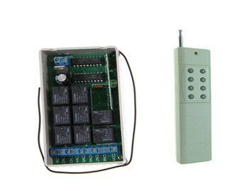 266MHz-433MHz Wireless Remote Control Switch System AK-RK08-12+AK3000-8 by QLPD. $72.20. Just take a remote controller and you can easily control all electrical appliances at home, moreover, the wireless switch system is easy install and use conveniently!