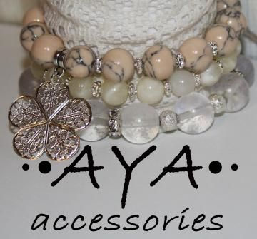 "A set of bracelets "" Light Flower"" by AYASHOP for $43.00"