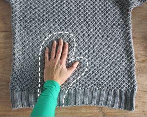 Recycling: maak van een oude trui hippe wanten en bijpassende beenwarmers