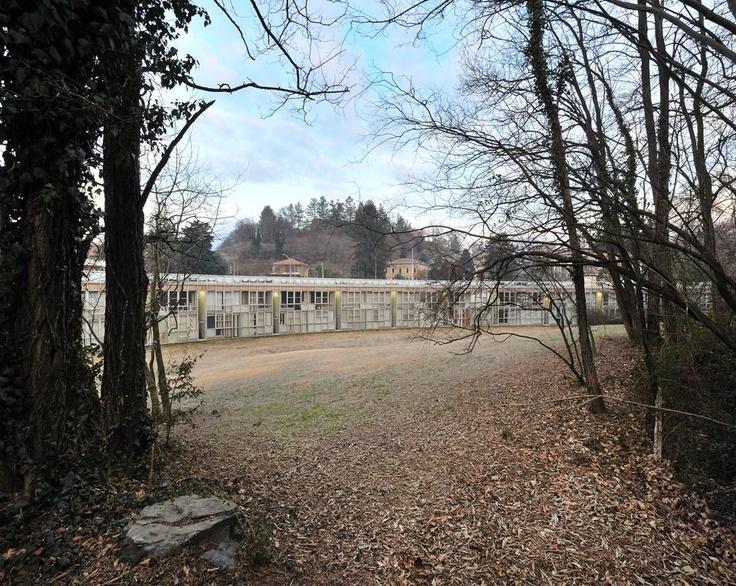 Insediamento residenziale Ovest di Aimaro Isola e Roberto Gabetti, 1969-71, Ivrea, Torino