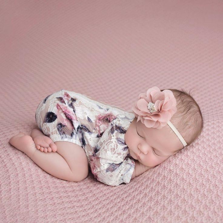 4 Preemie and Newborn Top Sizes Baby Girl Dainty Pink Roses Short Sleeve Shirt