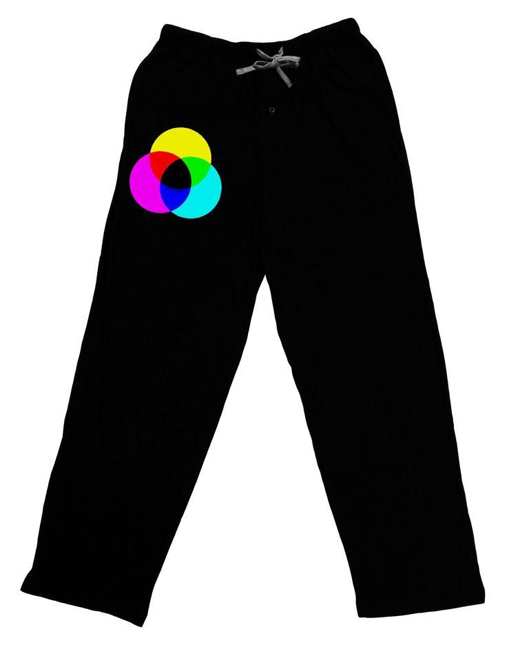 CMYK Color Model Adult Lounge Pants by TooLoud