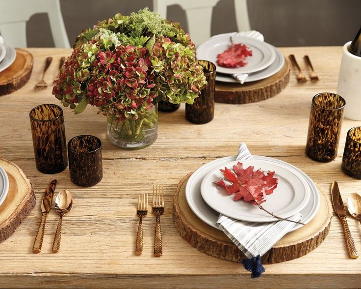 5 Fall Tablesettings for Every Occassion - How To Decorate